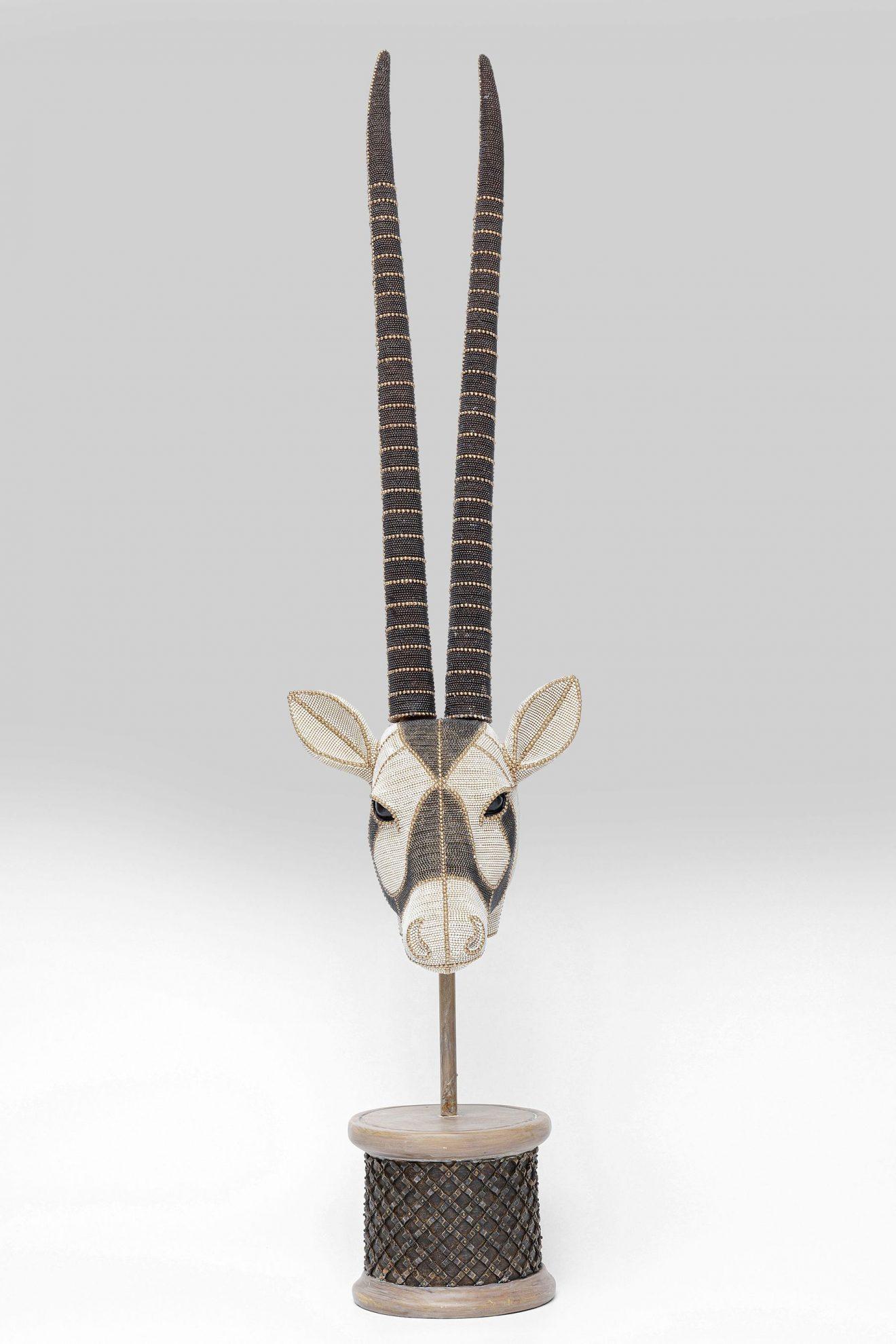 Kare 51920_Deko Antelope Head Pearls