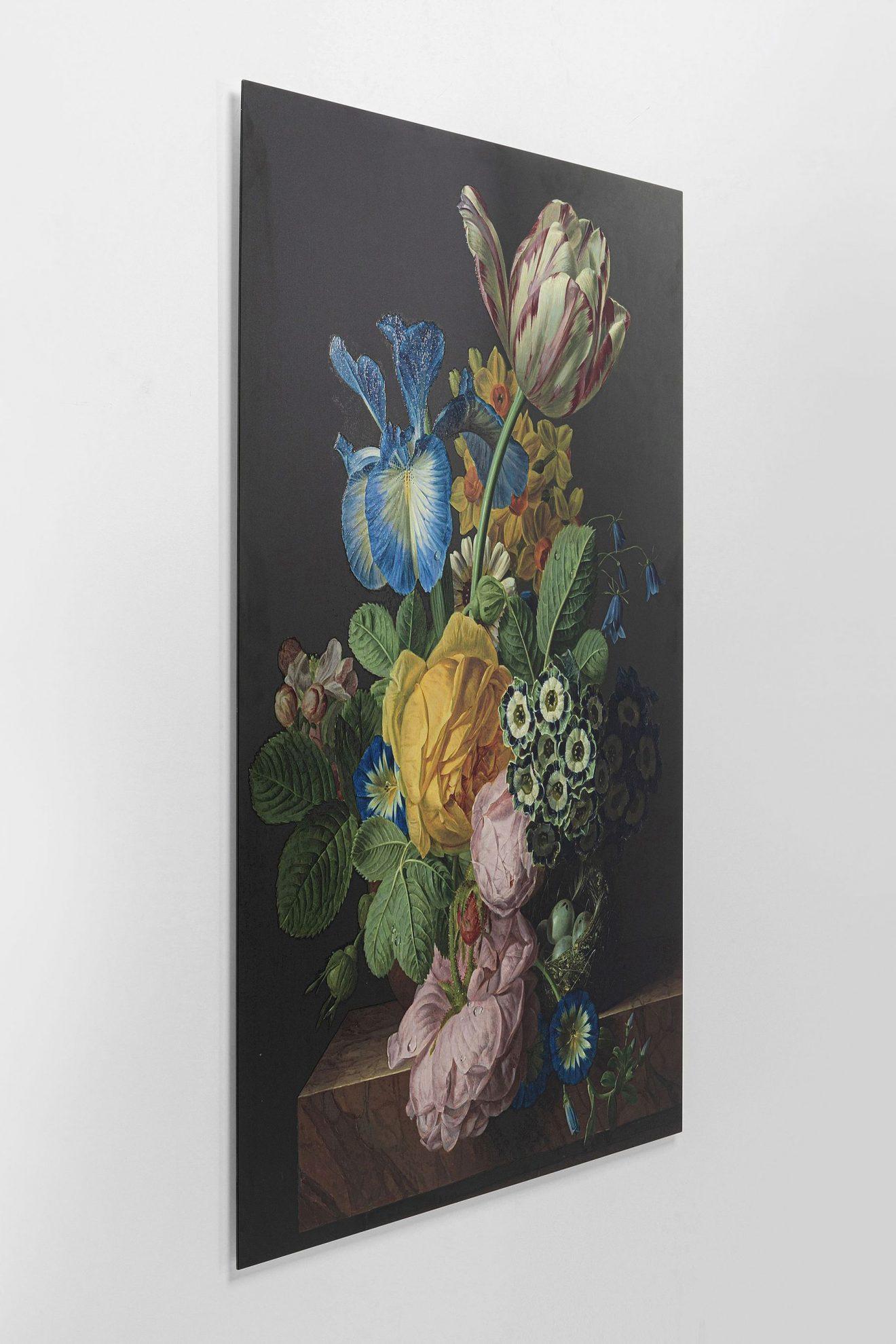 Kare 52602_Bild Glas Flowers Harmony 100x150
