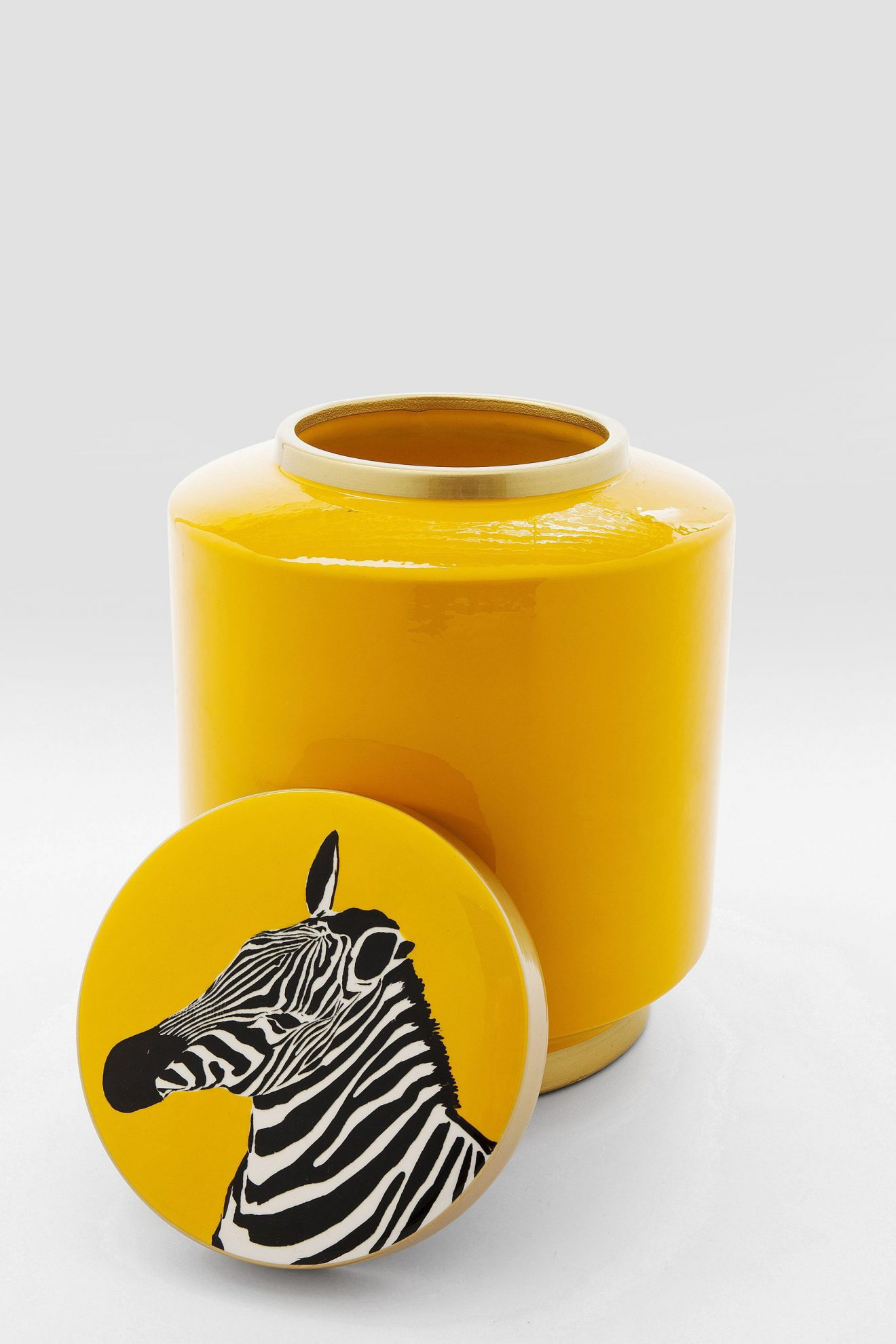 Kare 61285_Deko Gefäß Zebra